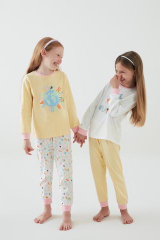 Girls Planet 4Buc Set Pijama