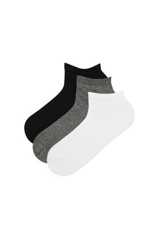 Men Muline 3In1 Liner Socks