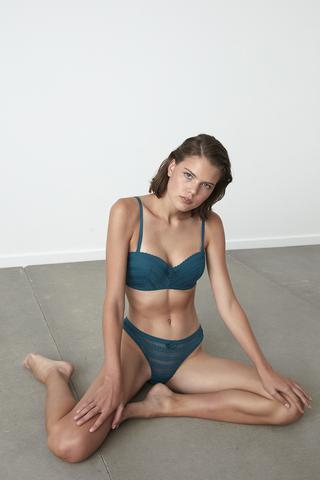 Lotus Lace Bra