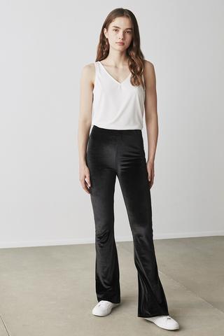 New Velvet Flare Pants