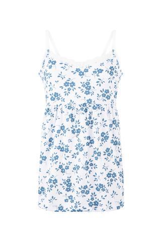 Mama Blue Flowers Maiou