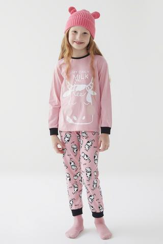 Girl Milk Set Pijama