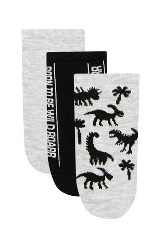 Ciorapi Tip Footsies Wild Dino 3 Buc