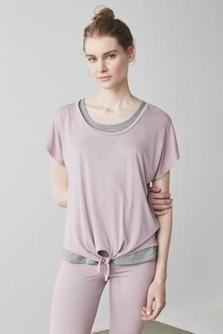 Knotted Double T-Shirt