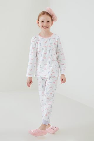 Set Pijama Girls Dino 4 Buc