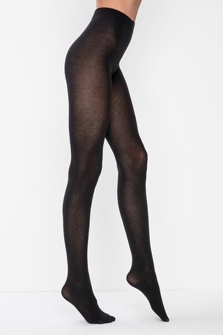 Ciorapi cu chilot cu amestec de cashmir-vâscoz?
