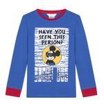 Boys Kids Disney Wanted Mickey 2 In 1 PJ Set
