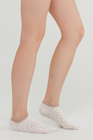Shiny Desen 3In1 Liner Socks