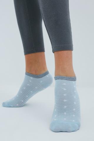 Çember Dot 3In1 Liner Socks